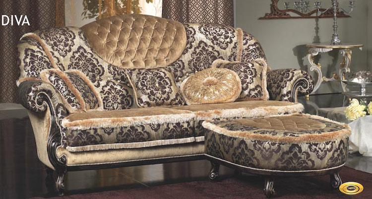 luxus polstergarnitur sofa couch 3 sitzer sessel hocker designerm bel grau vip ebay. Black Bedroom Furniture Sets. Home Design Ideas