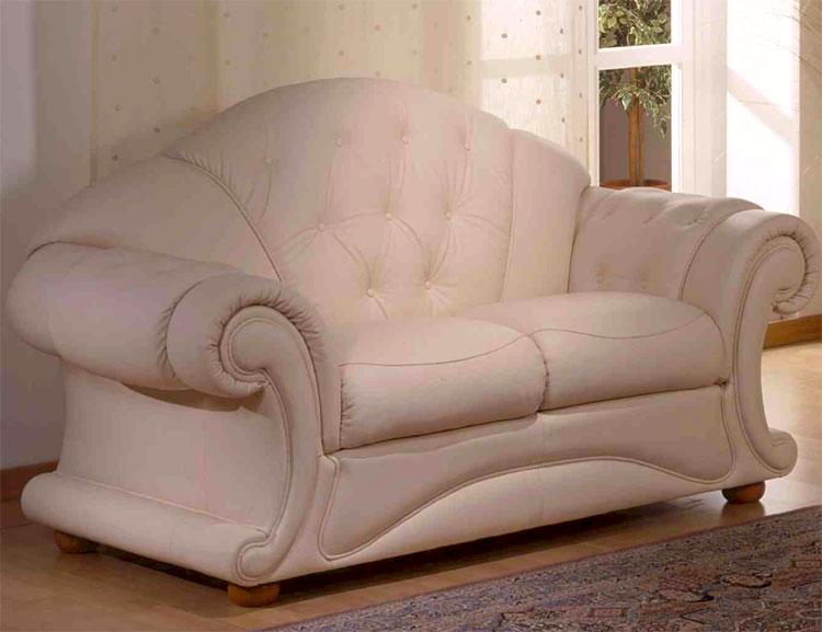 luxus m bel italien echtleder garnitur 2 sitz sofa couch. Black Bedroom Furniture Sets. Home Design Ideas