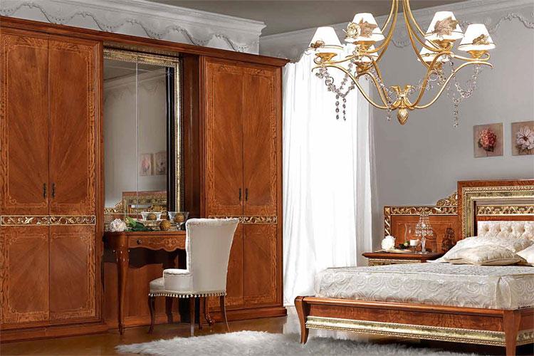 luxus schrank spiegel schminktisch nussbaum halbmatt. Black Bedroom Furniture Sets. Home Design Ideas