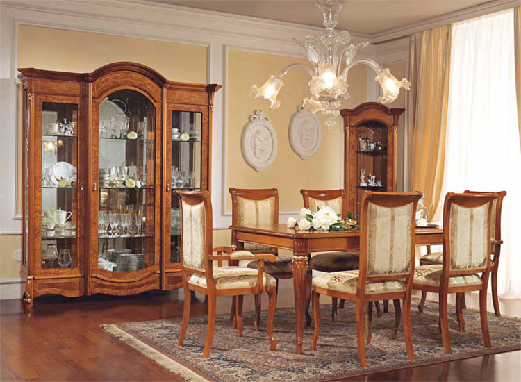 luxus wohnzimmer nussbaum heckenrose halbmatt vitrine tisch stilm bel italia ebay. Black Bedroom Furniture Sets. Home Design Ideas