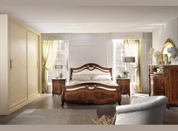 Luxus bett schrank nachtkonsole schlafzimmer set klassische stilm bel italien ebay - Stilmobel italien ...