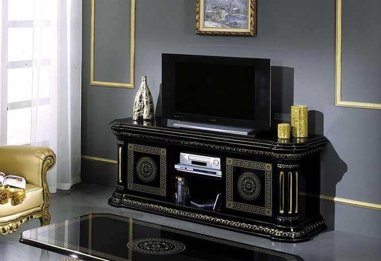 tv plasma sideboard couchtisch lampentisch gold klassische luxus m bel italien ebay. Black Bedroom Furniture Sets. Home Design Ideas