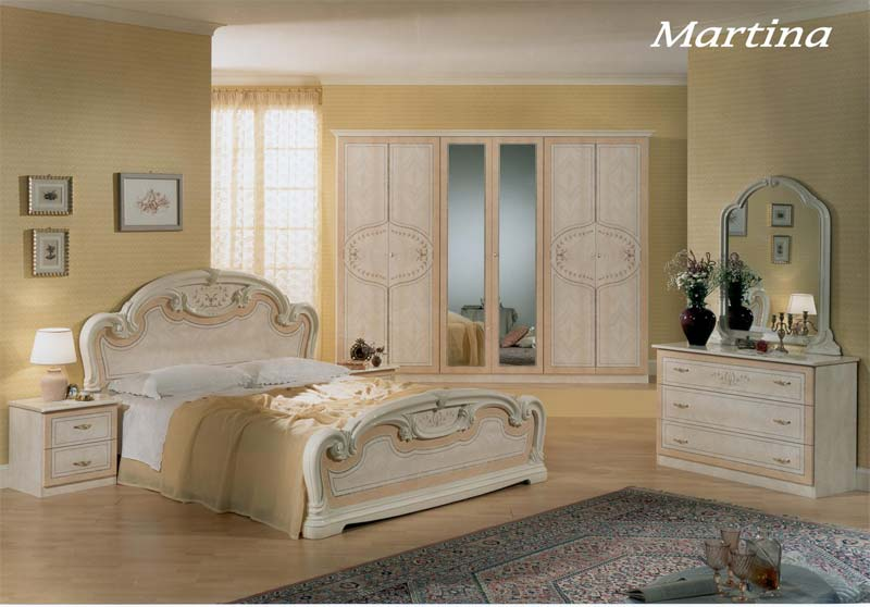 design schlafzimmer martina m bel italien klassik hochglanz trendy ebay. Black Bedroom Furniture Sets. Home Design Ideas